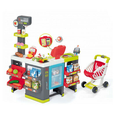 SMOBY Children's Maxi Market Playset, Unisex, 3 To 6 Years, Multi-Colour • 86.12£