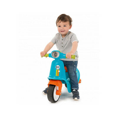 SMOBY Children's Blue Scooter, Unisex, 18 Months To 3 Years, Blue/Orange • 51.46£