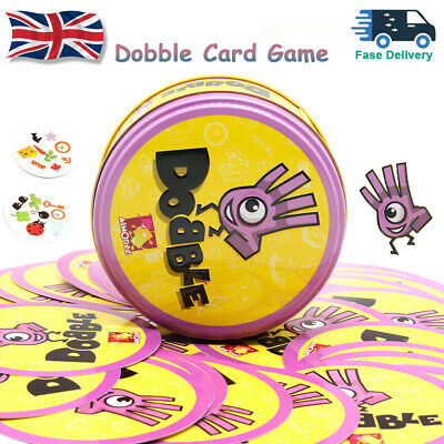 Dobble Card Game Funny Family Card Game Party Relax Game Toy Gifts Multi-players • 7.99£