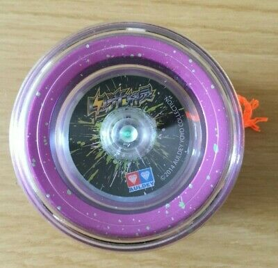 Auldey YoYo 2014 Collection - Purple With Orange String • 9.99£