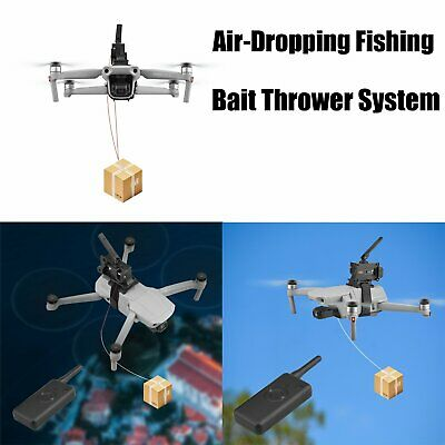 Air Thrower Ring Fishing Bait Air-Dropping System For DJI Drone • 23.81£