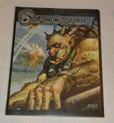 SHADOWRUN 3rd Edition GM SCREEN FASA RPG Roleplaying In Shrink • 20£