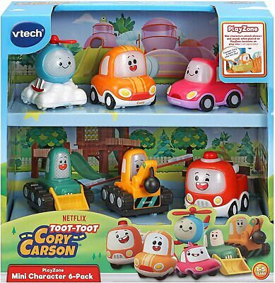 VTech Toot-Toot Drivers Cory Carson Mini Vehicle Pack, Toy Kids Car With Sounds • 19.99£