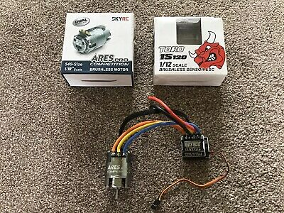 SkyRc Toro IS120 Electronic Speed Controller And 13.5 Brushless Motor. Boxed • 80£