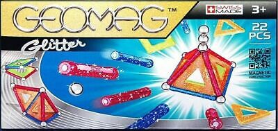 Geomag Glitter - 22 Piece Magnetic Construction Set - Brand New • 11.70£