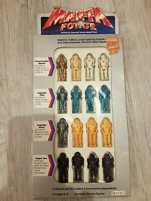 Manta Force - Fighting Troops - Figures. Boxed • 15£