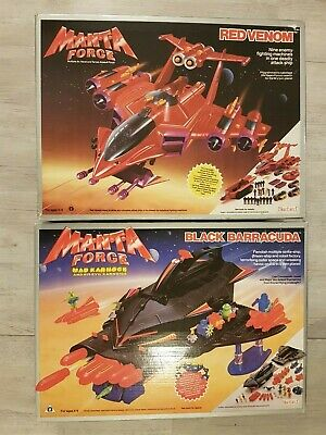 Manta Force Red Venom And Black Barracuda Boxed • 80£