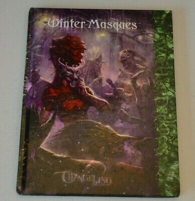 WINTER MASQUES For Changeling The Lost White Wolf World Of Darkness WoD • 16£