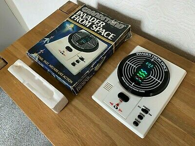 Boxed Grandstand Invader From Space Vintage 1980 Electronic Game - Very Good • 82.50£