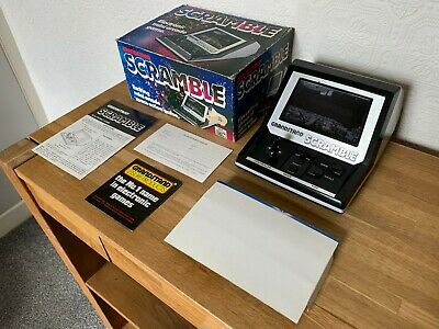 Boxed Grandstand Scramble Vintage 1982 Tabletop Electronic Game - Awesome. • 140£