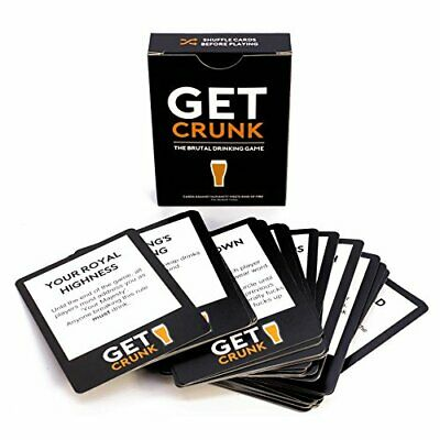 Get Crunk - The Brutal Card Drinking Game For Students, Pre Drinks, Stag & Hen • 11.99£