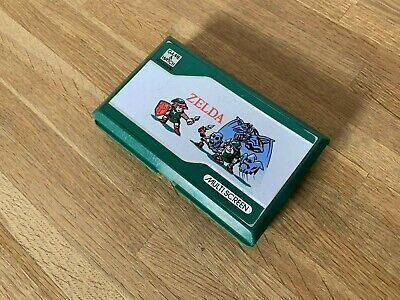 Nintendo Game And Watch Zelda 1989 LCD HandHeld Electronic Game - Poor Condition • 87.50£