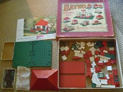 Vintage Bayko Building Set • 20£