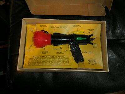Rare Space Pilot 3 Colour Super Sonic Gun With High Frequency Resonator Inc Box • 160£