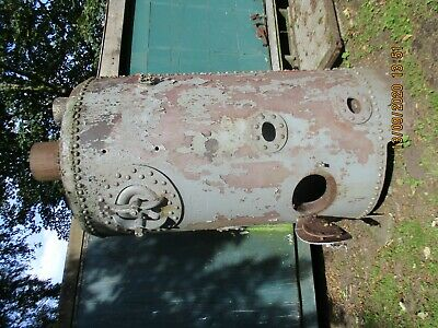 Live Steam Vintage Vertical Steel Boiler • 112£