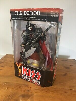 Mcfarlane Toys Kiss Creatures Gene Simmons The Demon Special 12  Edition Figure • 35£