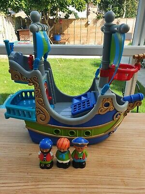 ELC Happyland Pirate Ship With Pirates • 1.04£