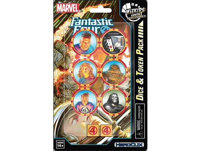 Marvel HeroClix: Fantastic Four Dice And Token Pack • 7.99£