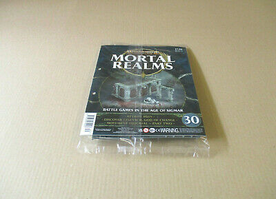 Warhammer Age Of Sigmar Mortal Realms #30 Azyrite Ruin Model Parts Battle Games • 12.75£