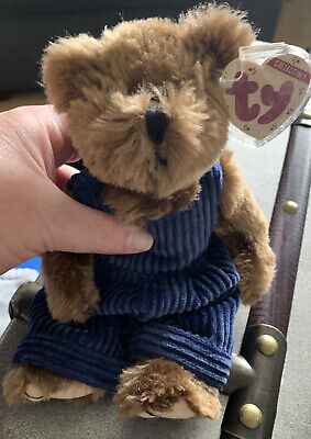 Ty Beanie Baby Attic Treasure Christopher Brown New With Tags  • 5£