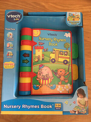 VTech Nursery Rhymes Book BNWT New Boxes Kids Educational Toy 3-24 Months • 3.30£