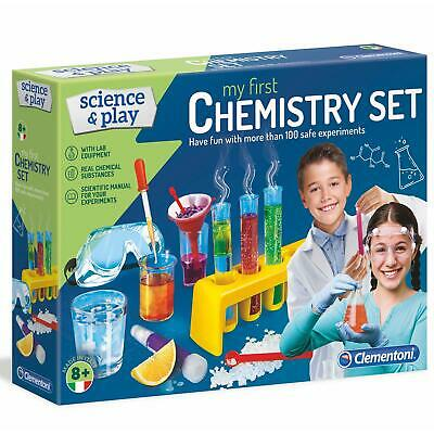 Clementoni My First Chemistry Set - Laboratory - Science & Play - Ages 8 Years + • 12.66£