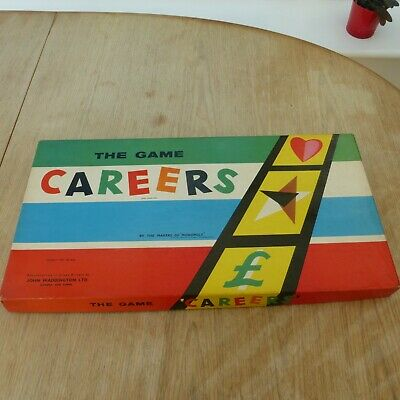 Careers Board Game Waddingtons 1960s Good Condition • 5.07£