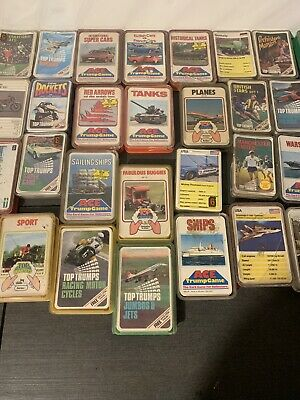 Vintage Ace Top Trumps Card Game And Many Other Trumps Games • 5.50£