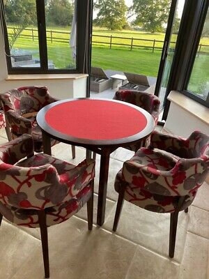 Card / Games Table & Six Chairs • 10£