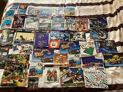 Lego Instructions & Catalogues Mixed Job Lot • 4.99£