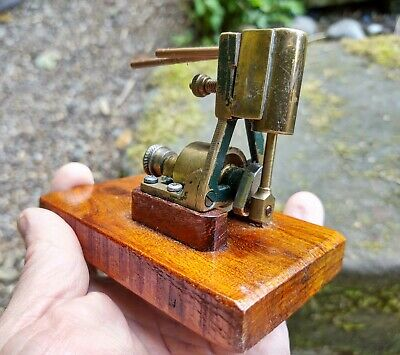 Small Steam Engine Single Cylinder Antique Vintage  • 65£