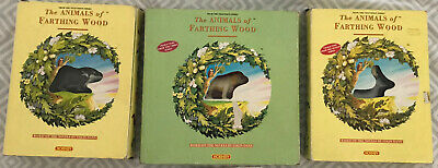 Hornby The Animals Of Farthing Wood Vinyl Plastic Animals Complete Set 1 & 2 Box • 8.90£