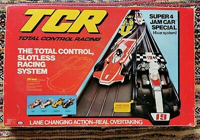 IDEAL TCR Super 4 Jam Car Special Set With Real Overtaking • 79.99£