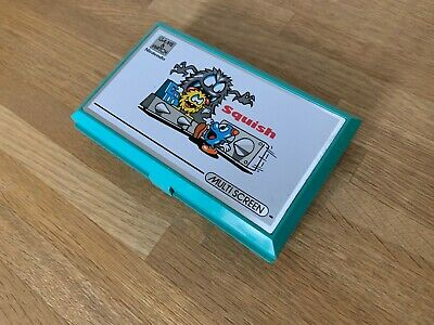 Nintendo Game And Watch Squish 1986 LCD Electronic Game - Superb Condition. • 87.50£