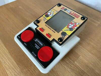 Rare SystemA Bowling 1990 Vintage LCD Handheld Electronic Game - Superb ! • 65£
