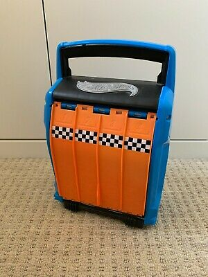 New - Hot Wheels - VERY RARE - Carry Case Car Launcher - Stores 20 Cars • 44.99£