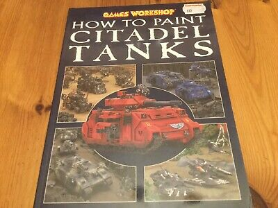 Games Workshop How To Paint Citadel Tanks • 2.70£