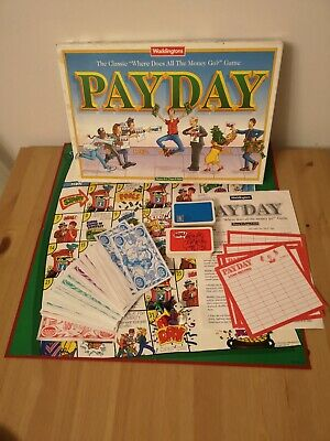 Waddingtons Payday Board Game 1994 Vintage Family Board Game  • 7.99£