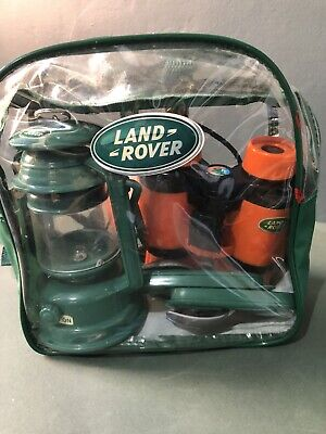 LAND ROVER CHILDS BACKPACK - Binoculars , Lamp , Lunch Cutlery  • 18£