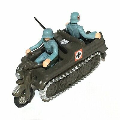 Britains Deetail WW2 German Kettenkrad. Inc. Riders & Special Features. 1970s • 36£