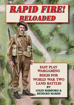 Rapid Fire Reloaded  - Fast Play Wargaming Rules For World War Ii  • 5£
