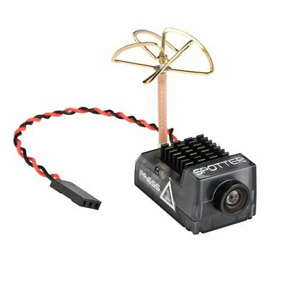 Spotter V2 Micro FPV AIO Camera 5.8G W/ OSD Integrated Mic FOV 170 Degree For RC • 25.99£