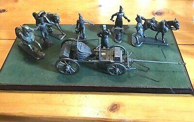 Diorama Army Of Napoleon The Campaign Forge - Metal Figurine Soldiers 1/32 Atlas • 45£
