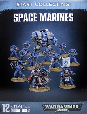 Warhammer 40K Start Collecting Space Marines New & Sealed • 54.99£