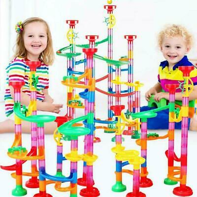 Large 221pcs Marble Run Race Set Construction Building Blocks Toy Game Gift UK • 15.89£
