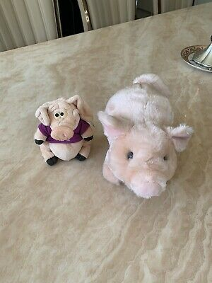 Children's Soft Toy (2 Toys In Total - Pigs) • 5£