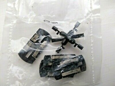 Scalextric Porsche 962 360 Spin Spare Guide Plates X4 & 2 Pairs Black Mirrors  • 9.99£