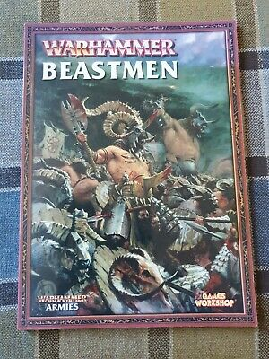 Beastmen Army Book - Warhammer Fantasy Battle, 8th Edition Games Workshop  • 2.10£