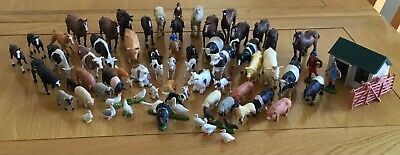 Over 60 Britains Farm Toys Animal/figure 4 Small Fencing & Building  job Lot. • 20£