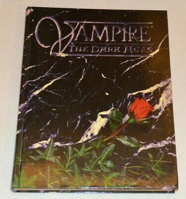 VAMPIRE THE DARK AGES Main Rule Book By White Wolf World Of Darkness WoD RPG • 35£